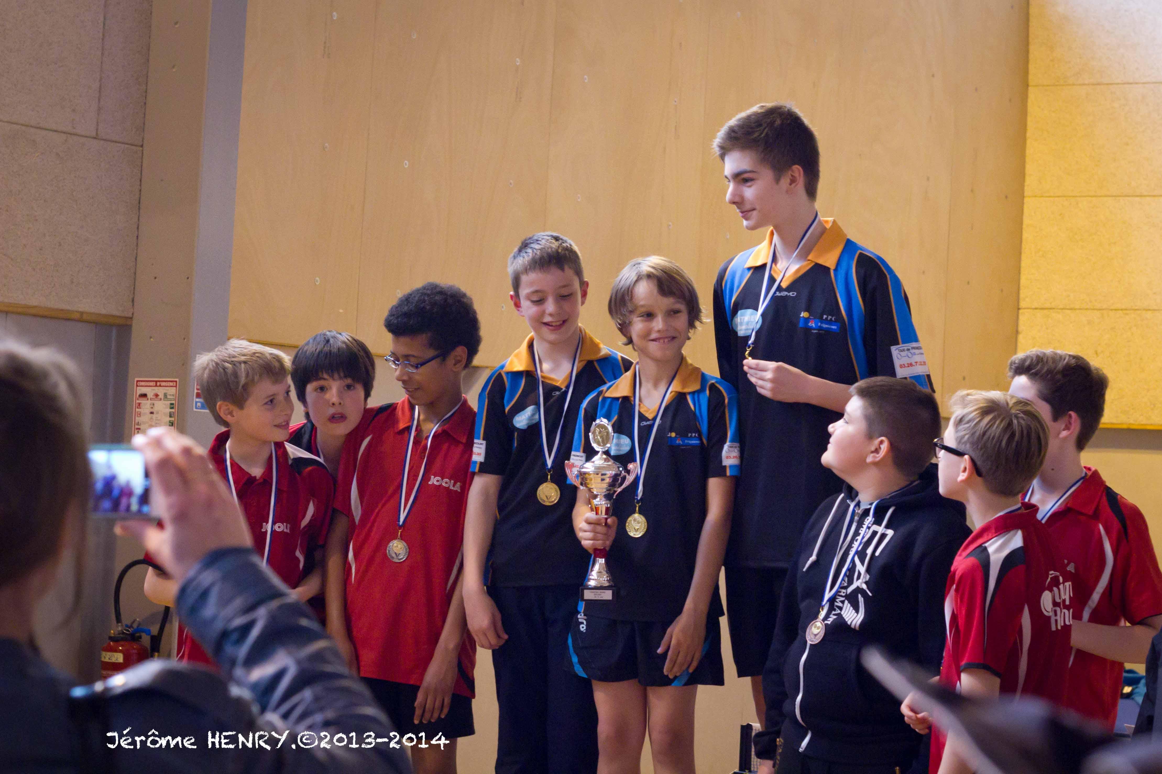 Championnat jeunes comit marne de tennis de table - Championnat d europe de tennis de table ...