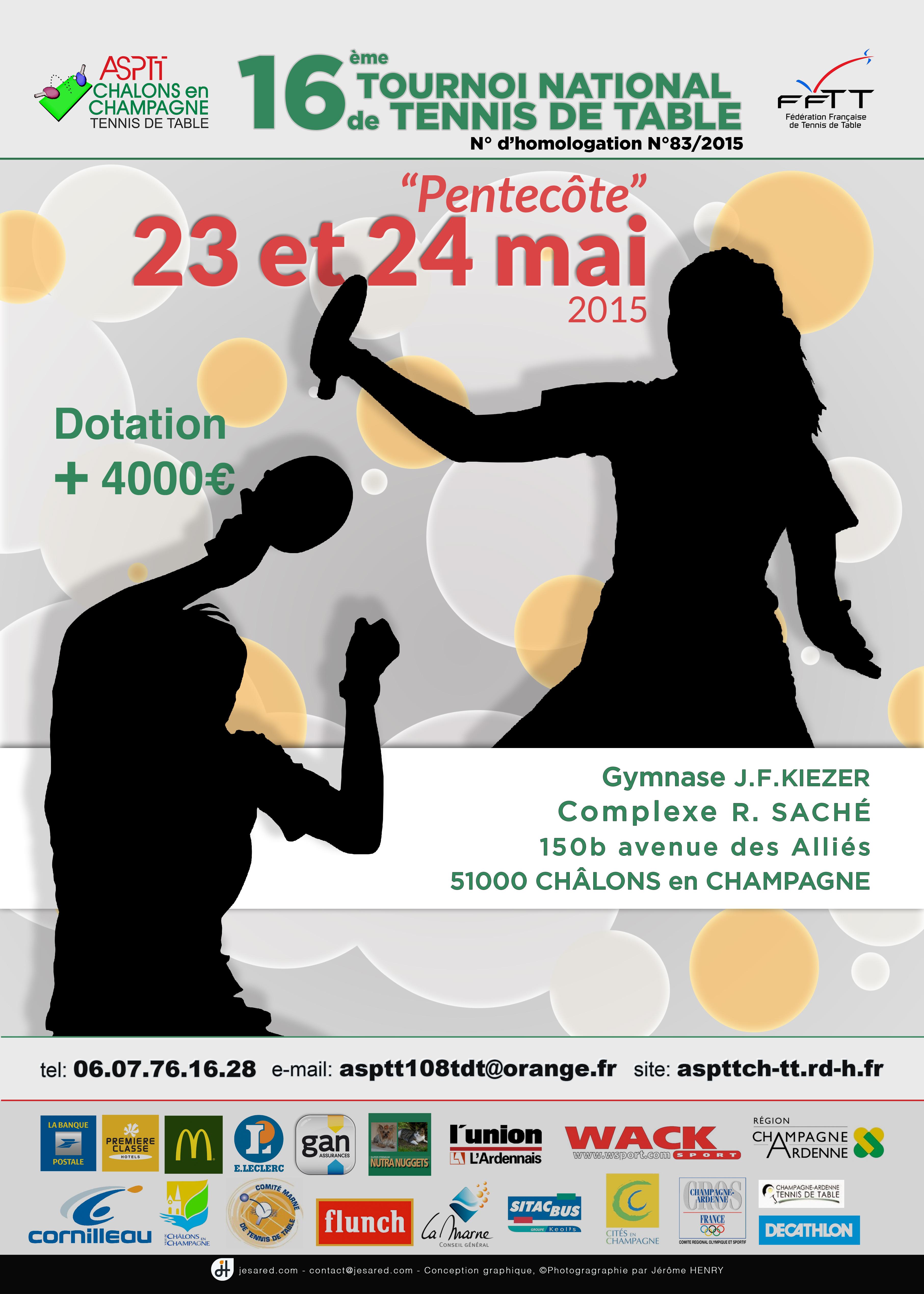Tournoi national de l'ASPTT Chalons
